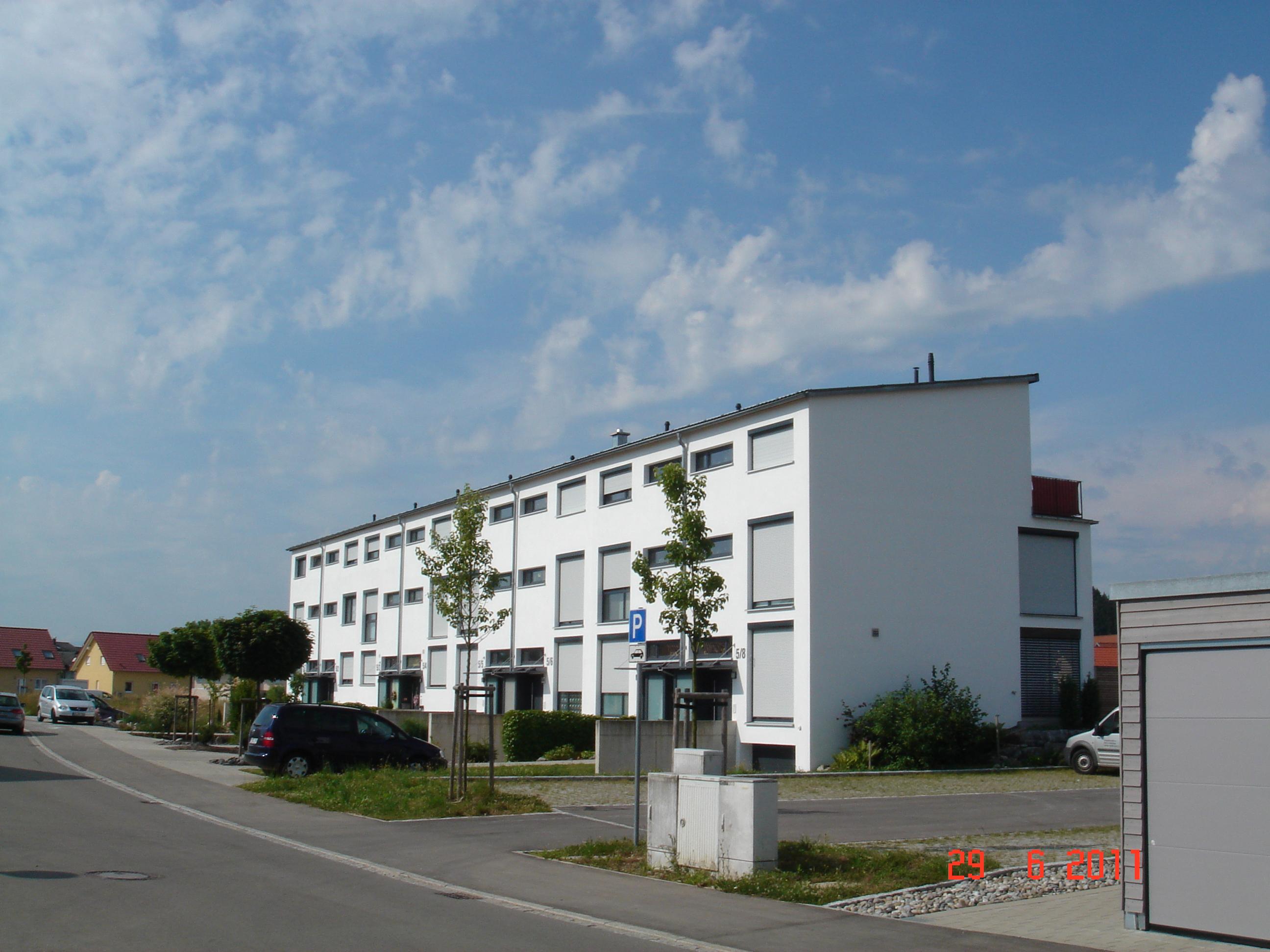 Stadthäuser, 8 Häuser 2011